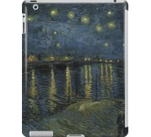 Vincent Van Gogh - Starry Night, Impressionism .Starry Night, 1888 iPad Case/Skin