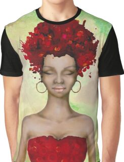 Crazy Red Hair morning Graphic T-Shirt