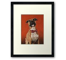 Did you say something Framed Print