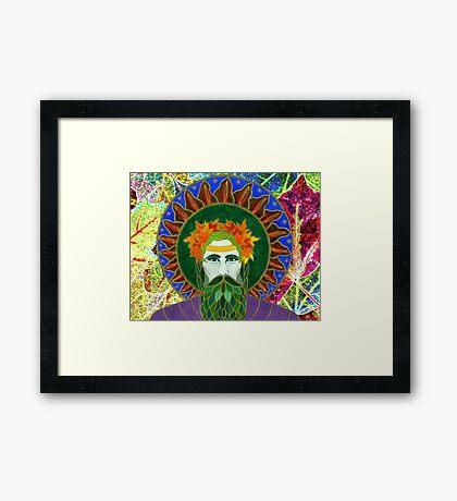 Autumnal King Framed Print