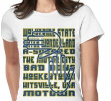 MICHIGAN, AKA… Womens Fitted T-Shirt