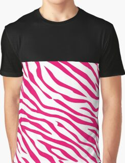 Zebra Fashion Graphic T-Shirt