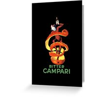 Campari Greeting Card