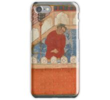A guard dozes at night, a fragment from the Hamzanama, Mughal, circa iPhone Case/Skin