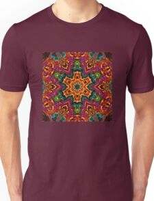 Colorful snowflake Unisex T-Shirt