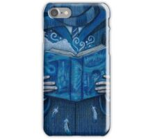 Books magic blue iPhone Case/Skin