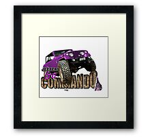 jeepers go commando Framed Print