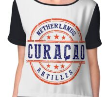 Curacao, The Netherlands Antiles Chiffon Top