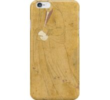 A lady holding a bottle, signed by Aqa Reza, Persia, Safavid, late 16th century iPhone Case/Skin