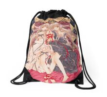 Chobits Chii & Freya Drawstring Bag