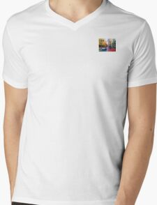 Portland Street, Autumn Mens V-Neck T-Shirt