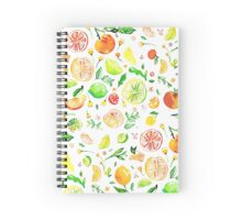 Citrus love  Spiral Notebook