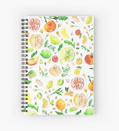 Citrus love  Spiral Notebook