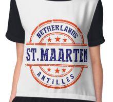 St. Maarten, The Netherlands Antilles Chiffon Top