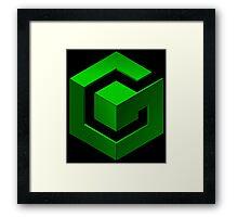 Gamecube Logo Framed Print