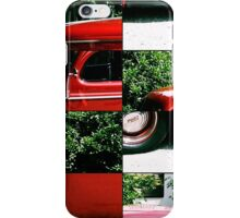 Ford puzzle iPhone Case/Skin