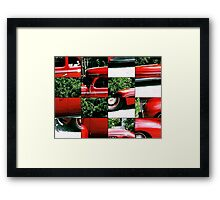 Ford puzzle Framed Print