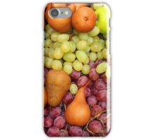 Grapes Pears and Apples iPhone Case/Skin