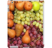 Grapes Pears and Apples iPad Case/Skin