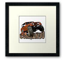 Go Commando Framed Print