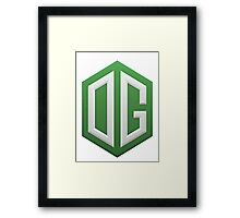 Team OG Gaming Framed Print