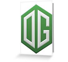 Team OG Gaming Greeting Card