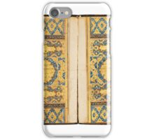 A large illuminated Qur'an, India, Mughal, late 16th, 17th century iPhone Case/Skin