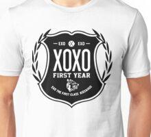 EXO XOXO Crest (Black Version) Unisex T-Shirt