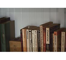 The Bookshelf Photographic Print