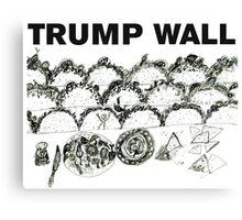 Trump Wall Canvas Print