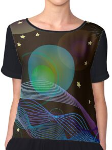 Abstract Space background for design. Chiffon Top