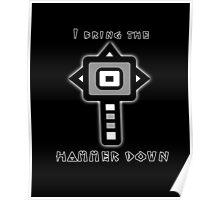 Monster Hunter Hammer Poster