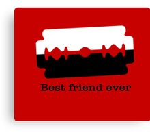Best Friend Ever Canvas Print