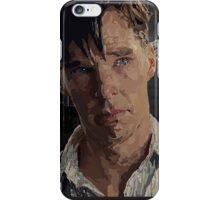 The Imitation Game - Benedict Cumberbatch Digital Portrait  iPhone Case/Skin