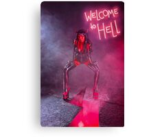 She Devil Full length photo Canvas Print