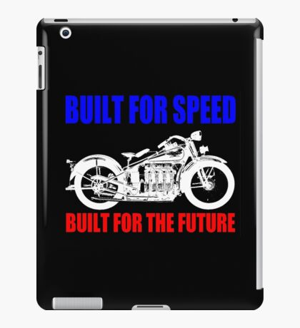 MOTORCYCLE (1930'S)-2A iPad Case/Skin