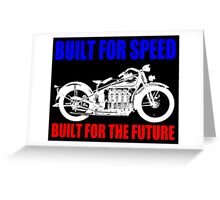 MOTORCYCLE (1930'S)-2A Greeting Card