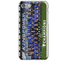 Leicester champions team iPhone Case/Skin