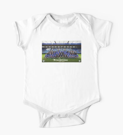 Leicester champions team One Piece - Short Sleeve