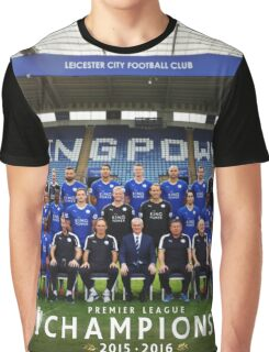 Leicester champions team Graphic T-Shirt