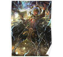 Fire Emblem Fates - Odin Poster