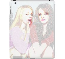 Mean Girls Script iPad Case/Skin