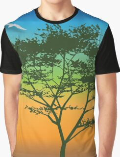 Tree dreams – multi-colors Graphic T-Shirt