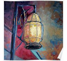 Colorful lamp Poster