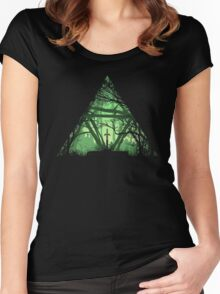 Treeforce Women's Fitted Scoop T-Shirt