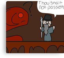 Shakespearian Gandalf Canvas Print