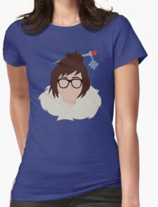 Minimalist Mei Womens Fitted T-Shirt