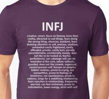 INFJ - The Counselor - DESCRIPTION Unisex T-Shirt