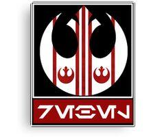 Rebel Alliance: Rebel Canvas Print