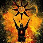 Praise the Sun Art by DonnieArts